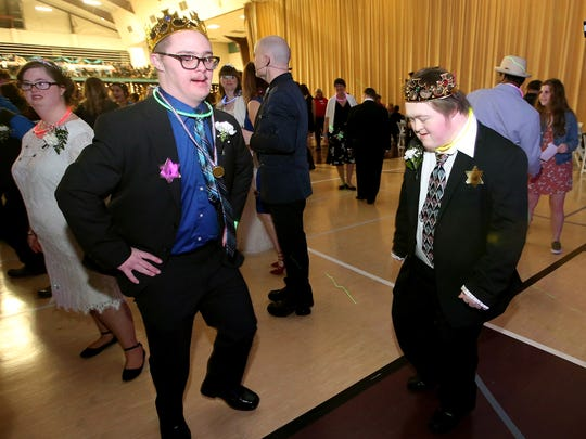 Night to Shine, an annual prom experience for people with special needs took place at the Kitsap Sun Pavilion on Friday, Feb. 9, 2018. The event was created and sponsored by the Tim Tebow Foundation and hosted locally by Newlife Church.