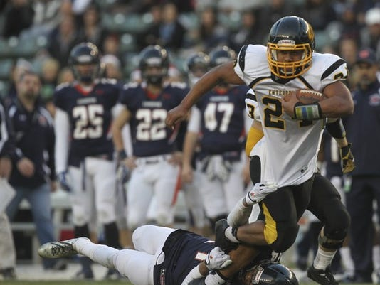 Enterprise High running back Izzy Matthews received an offer to play football for Colorado.
