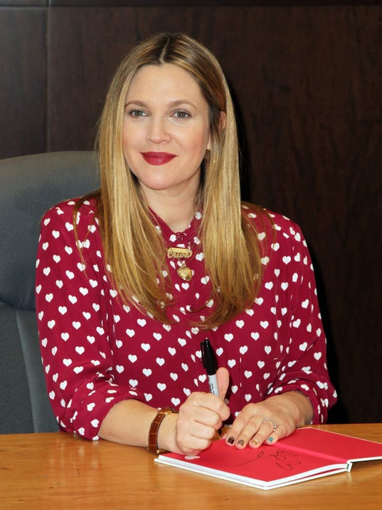 "Drew Barrymore Book Signing For ""Find It In Everything"""