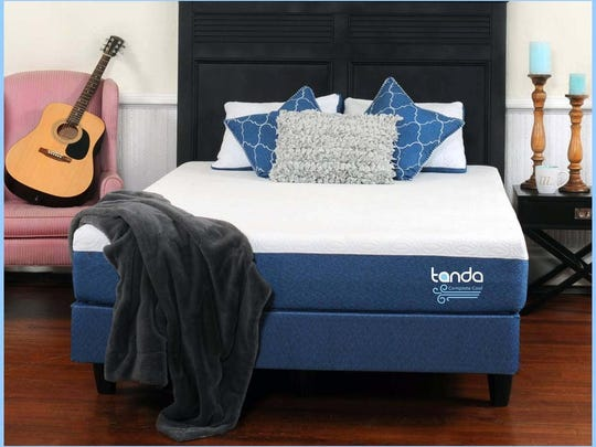 Tanda's mattresses help you feel cooler, which could promote faster and longer sleep.