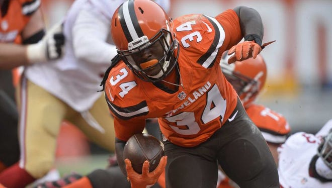 Isaiah Crowell rushed for career-high 145 yards last season against San Francisco.