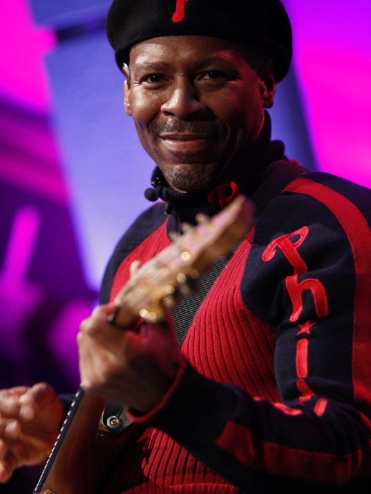 Philadelphia-native guitarist Kevin Eubanks recently finished his 18-year stint on 'The Tonight Show With Jay Leno.' Saturday night, he performs with three musicians and friends at the Gettysburg Festival.