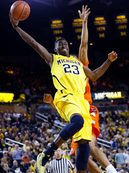 NCAA Basketball: Syracuse at Michigan
