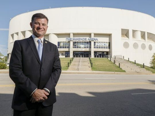 David Blackburn was a candidate for Tennessee's athletic director opening.