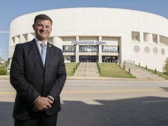 Chattanooga athletic director David Blackburn