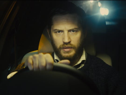 Tom Hardy is a one-man show in 'Locke.'