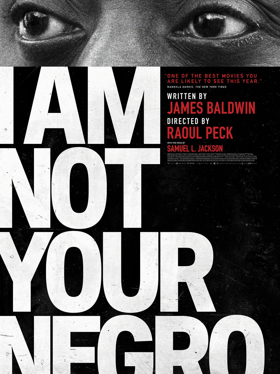 'I Am Not Your Negro' is nominated as Best Documentary