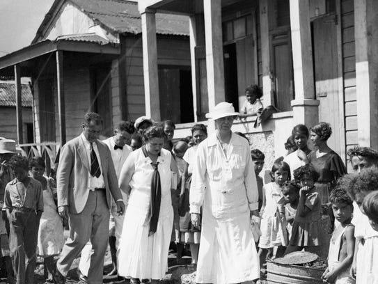 In 1934, first lady Eleanor Roosevelt visited Puerto