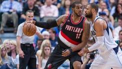 April 15, 2015; Dallas; Dallas Mavericks center Tyson