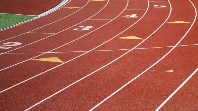 STOCK PHOTO Track and field.