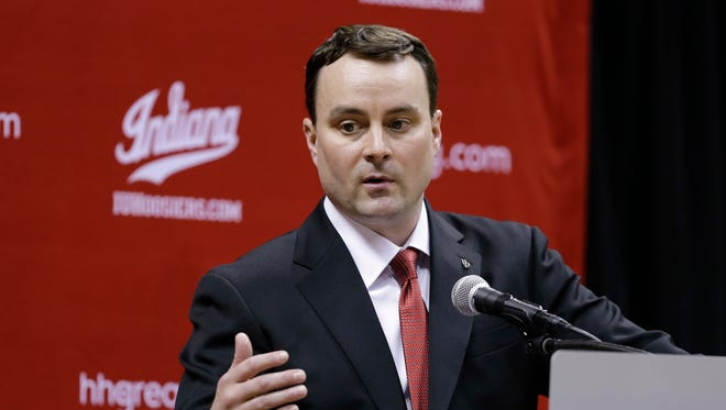 Archie Miller put players through the first workout of his IU tenure.