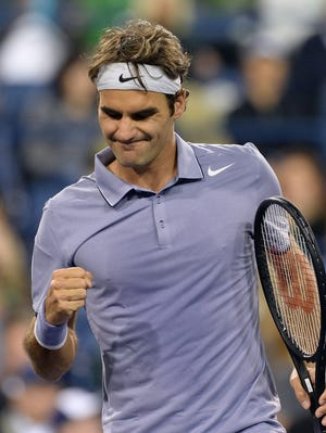 Roger Federer has not dropped a set in four matches at Indian Wells.