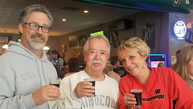 Attendees at the 2016 Fest-of-Ale enjoy samples at Fat Joe's Bar & Grill.