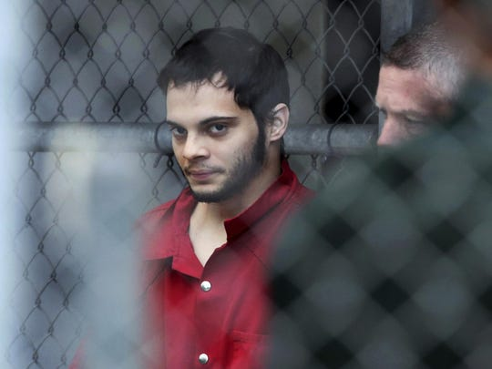 Esteban Santiago is accused of fatally shooting several