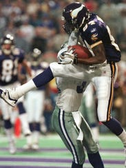 Randy Moss with the Vikings.