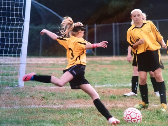 Hannah Duffy was a soccer star until the end.
