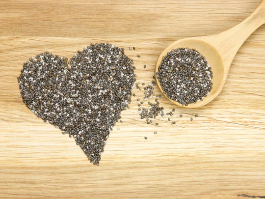 Chia seeds are a good source of calcium.