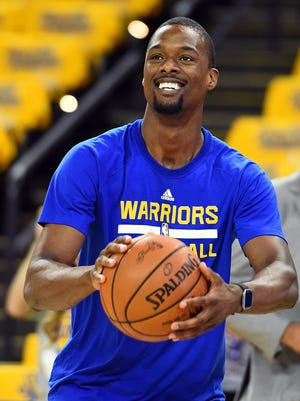 Golden State Warriors forward Harrison Barnes (40) is one of several free agents for this team.