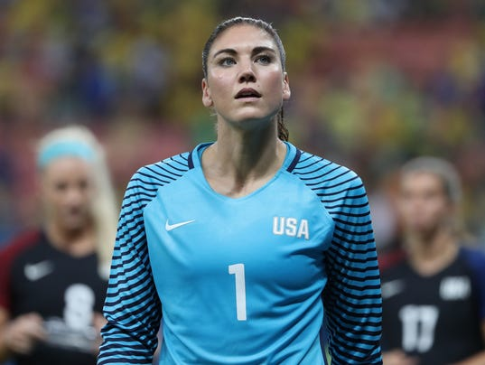 suspended uswnt goalkeeper hope solo eyes 2019 world cup