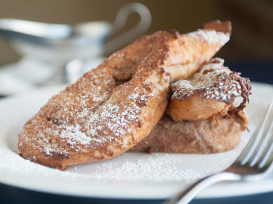 French toast is a winner at Blue Monkey Tavern in Merchantville.