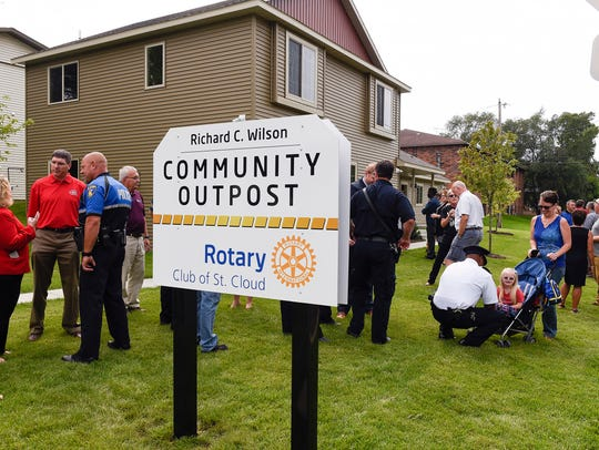The St. Cloud Rotary Richard C. Wilson Community OutPost