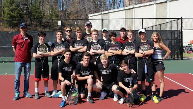 Asheville High's boys tennis team is undefeated ahead of Tuesday's second round of the NCHSAA 3-A dual team playoffs.