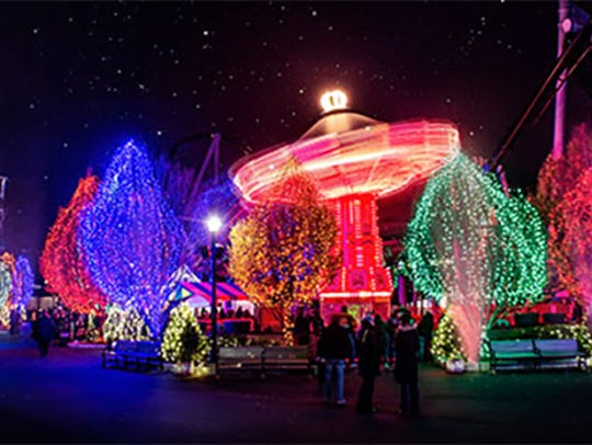 Christmas Candylane at Hersheypark is now open for
