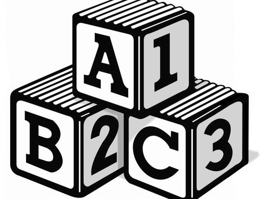 Black And White Abc Blocks : Ted c fishman column early childhood education is a