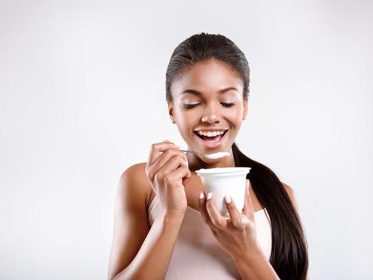 You can enjoy plain Greek yogurt every day as part