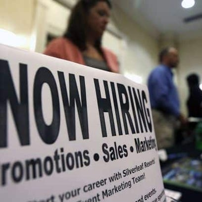 The state added only 6,300 jobs in December.