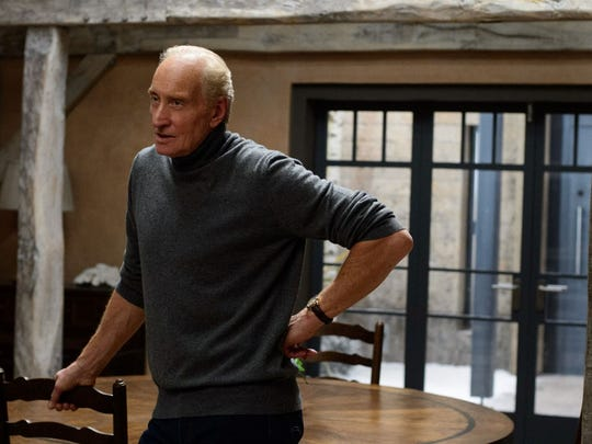 Charles Dance plays Will's father, Stephen Traynor,