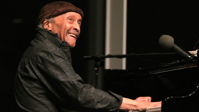 FILE - In this April 14, 2016 file photo, pianist Cecil Taylor performs in an unannounced second set at the Whitney Museum of American Art in New York. Taylor, who revolutionized jazz by launching the free-jazz movement in the late '50s, died Thursday, April 5, 2018, at his home in New York.  He was 89.