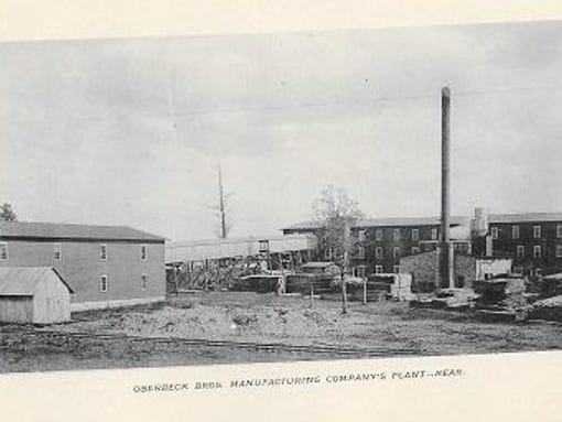 Oberbeck building for Trib