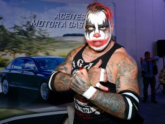 Psycho Clown y Pagano (foto) no se aguantaron las ganas