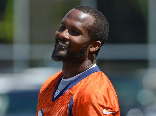 Denver Broncos 24 Champ Bailey Grey Shadow Jersey
