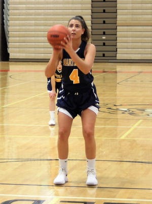 Hartland's Emily Messner scored 10 points for her second straight double-digit game in a 39-35 victory at Brighton.