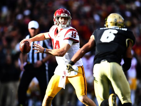 NCAA Football: Southern California at Colorado