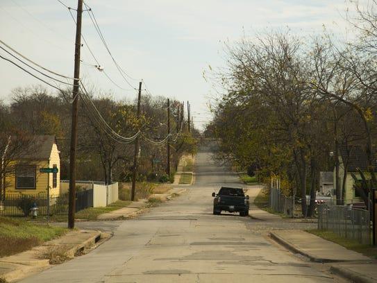 Dallas' South Oak Cliff neighborhood has less than