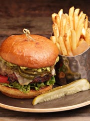 The Arizona burger from Red's Bar and Grill at the