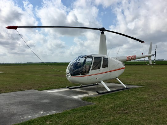 South Louisiana Community College has a fleet of helicopters