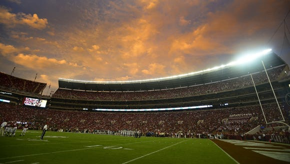 Alabama will have its spring game Saturday at Bryant-Denny