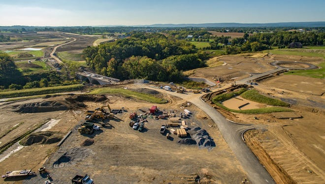 The Legacy Campus at Milton Hershey School in Derry Township. On Oct. 24, the school will officially break ground on 32 new student homes.