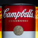 Campbell's Soup is flourishing as the market sinks.