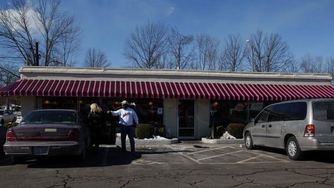Christie's Cafe in Louisville.
