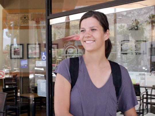 Michelle Bates, who was visiting Palm Springs from Virginia, said she would use the CV Link pathway.