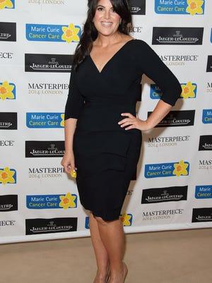 Monica Lewinsky in London in June.