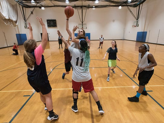 While Harrison's girls basketball program was disbanded, two players were allowed to join Farmington High School's team and one is able to play for North Farmington.