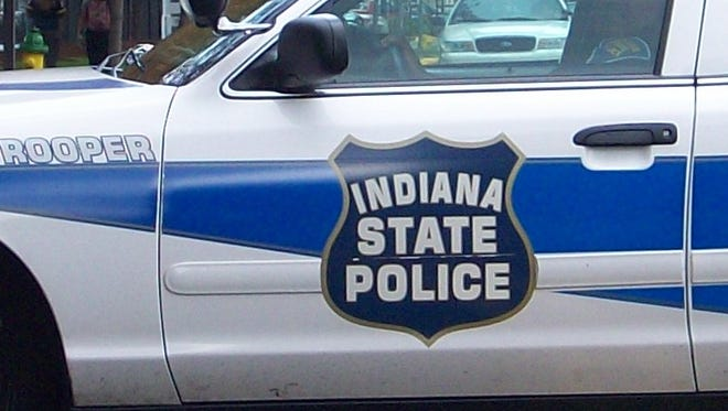 Photo provided by the Indiana State Police