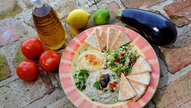 Beth Israel's Sisterhood Bazaar features a tasty salad plate