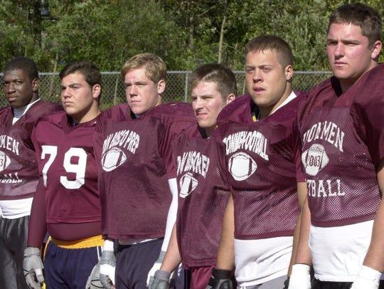 Brian Roche and his Don Bosco teammates.